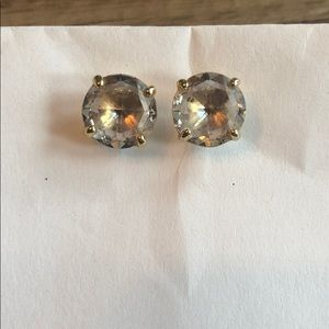 Kate Spade Clear Gem Earrings